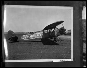 Primary view of object titled 'Plane on Airstrip'.