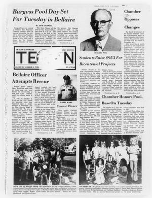 Primary view of object titled 'The Bellaire & Southwestern Texan (Bellaire, Tex.), Vol. 24, No. 24, Ed. 1 Wednesday, October 15, 1975'.