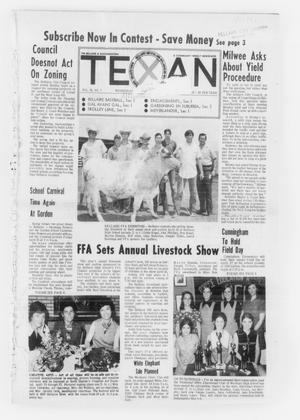 Primary view of object titled 'The Bellaire & Southwestern Texan (Bellaire, Tex.), Vol. 18, No. 7, Ed. 1 Wednesday, April 21, 1971'.