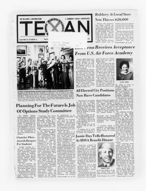 Primary view of object titled 'The Bellaire & Southwestern Texan (Bellaire, Tex.), Vol. 24, No. 41, Ed. 1 Wednesday, February 11, 1976'.