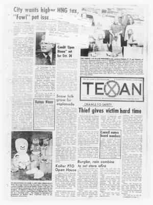 Primary view of object titled 'The Bellaire & Southwestern Texan (Bellaire, Tex.), Vol. 21, No. 29, Ed. 1 Wednesday, October 23, 1974'.