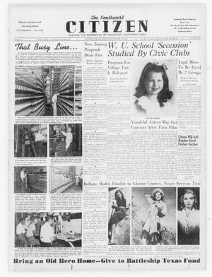 Primary view of object titled 'The Southwest Citizen (Houston, Tex.), Vol. 1, No. 10, Ed. 1 Friday, September 19, 1947'.