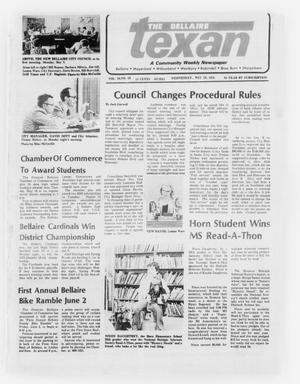 Primary view of object titled 'The Bellaire Texan (Bellaire, Tex.), Vol. 24, No. 53, Ed. 1 Wednesday, May 10, 1978'.