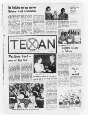 Primary view of object titled 'The Bellaire & Southwestern Texan (Bellaire, Tex.), Vol. 21, No. 8, Ed. 1 Wednesday, May 29, 1974'.