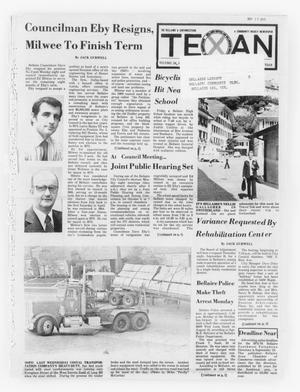 Primary view of object titled 'The Bellaire & Southwestern Texan (Bellaire, Tex.), Vol. 24, No. 19, Ed. 1 Wednesday, September 10, 1975'.
