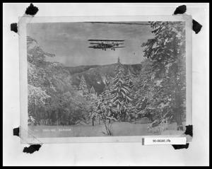 Primary view of object titled 'Bi-Plane in Flight'.