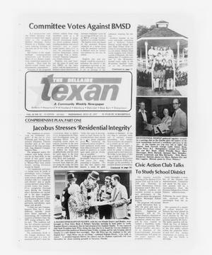 Primary view of object titled 'The Bellaire Texan (Bellaire, Tex.), Vol. 24, No. 12, Ed. 1 Wednesday, July 27, 1977'.