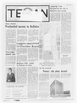 Primary view of object titled 'The Bellaire & Southwestern Texan (Bellaire, Tex.), Vol. 21, No. 15, Ed. 1 Wednesday, July 17, 1974'.