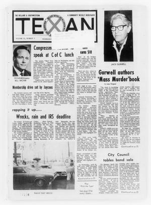 Primary view of object titled 'The Bellaire & Southwestern Texan (Bellaire, Tex.), Vol. 21, No. 3, Ed. 1 Wednesday, April 17, 1974'.