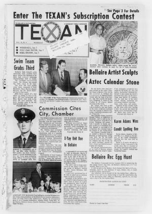 Primary view of object titled 'The Bellaire & Southwestern Texan (Bellaire, Tex.), Vol. 18, No. 3, Ed. 1 Wednesday, March 24, 1971'.