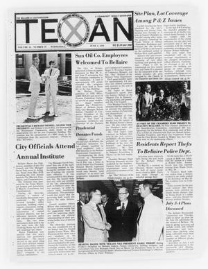 Primary view of object titled 'The Bellaire & Southwestern Texan (Bellaire, Tex.), Vol. 24, No. 37, Ed. 1 Wednesday, June 2, 1976'.