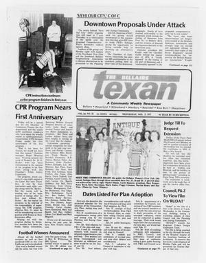 Primary view of object titled 'The Bellaire Texan (Bellaire, Tex.), Vol. 24, No. 25, Ed. 1 Wednesday, November 2, 1977'.