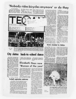Primary view of object titled 'The Bellaire & Southwestern Texan (Bellaire, Tex.), Vol. 19, No. 20, Ed. 1 Wednesday, August 16, 1972'.