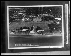Primary view of object titled 'Aerial View of Polo Club'.