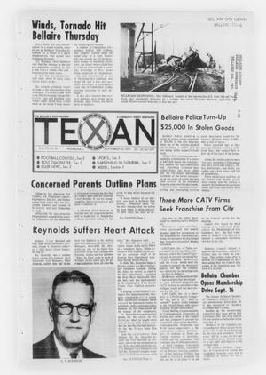Primary view of object titled 'The Bellaire & Southwestern Texan (Bellaire, Tex.), Vol. 17, No. 29, Ed. 1 Wednesday, September 23, 1970'.