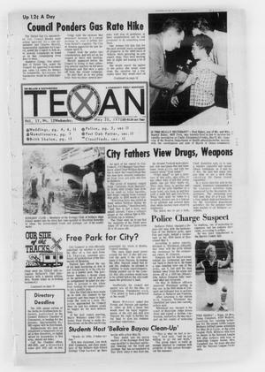 Primary view of object titled 'The Bellaire & Southwestern Texan (Bellaire, Tex.), Vol. 17, No. 12, Ed. 1 Wednesday, May 20, 1970'.