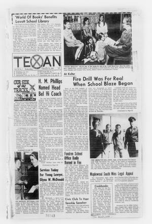 Primary view of object titled 'The Bellaire & Southwestern Texan (Bellaire, Tex.), Vol. 16, No. 1, Ed. 1 Wednesday, February 19, 1969'.
