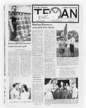 Primary view of object titled 'The Bellaire & Southwestern Texan (Bellaire, Tex.), Vol. 24, No. 6, Ed. 1 Wednesday, June 11, 1975'.