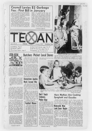 Primary view of object titled 'The Bellaire & Southwestern Texan (Bellaire, Tex.), Vol. 15, No. 38, Ed. 1 Wednesday, November 6, 1968'.