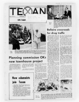 Primary view of object titled 'The Bellaire & Southwestern Texan (Bellaire, Tex.), Vol. 19, No. 14, Ed. 1 Wednesday, July 5, 1972'.