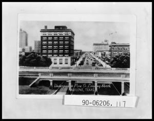 Primary view of object titled 'Downtown Street and Underpass'.