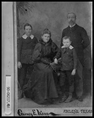 Primary view of object titled 'Portrait of Family'.