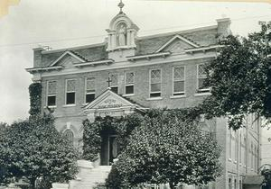 Primary view of object titled '[St. Anthony Catholic School Photograph #1]'.