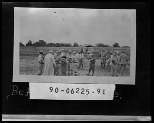 Primary view of object titled 'Men in Baseball Uniforms'.