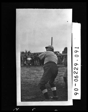 Primary view of object titled 'Man in Baseball Uniform'.