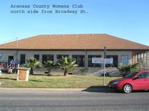 Primary view of object titled '[Woman's Club of Aransas County Photograph Building #3]'.