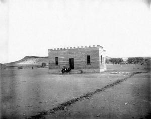 Primary view of object titled '[Jeff Davis County Jail Photograph #5]'.