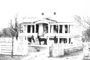 Primary view of object titled '[Gustav Blersch House Photograph #6]'.