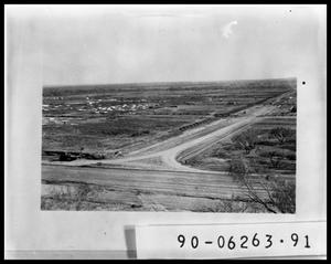 Primary view of object titled 'Aerial View of Road'.