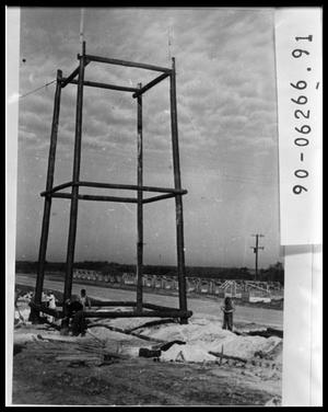 Primary view of object titled 'Tower Construction'.