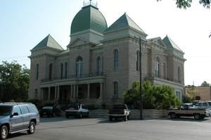 Primary view of object titled 'Crockett County Courthouse, Ozona'.
