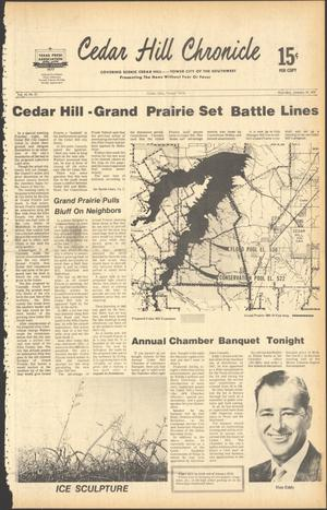 Primary view of object titled 'Cedar Hill Chronicle (Cedar Hill, Tex.), Vol. 14, No. 21, Ed. 1 Thursday, January 19, 1978'.