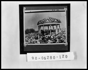 Primary view of object titled 'People by Bandstand'.