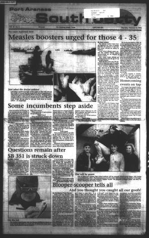 Primary view of Port Aransas South Jetty (Port Aransas, Tex.), Vol. 22, No. 6, Ed. 1 Thursday, February 6, 1992