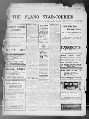 Primary view of object titled 'The Plano Star-Courier (Plano, Tex.), Vol. 41, No. 52, Ed. 1 Friday, February 4, 1921'.