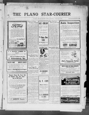 Primary view of object titled 'The Plano Star-Courier (Plano, Tex.), Vol. 41, No. 28, Ed. 1 Friday, August 27, 1920'.