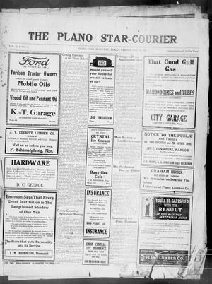 Primary view of object titled 'The Plano Star-Courier (Plano, Tex.), Vol. 41, No. 14, Ed. 1 Friday, May 21, 1920'.