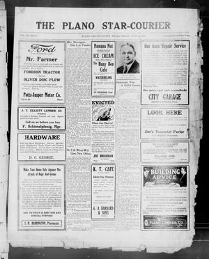 Primary view of object titled 'The Plano Star-Courier (Plano, Tex.), Vol. 41, No. 25, Ed. 1 Friday, July 30, 1920'.