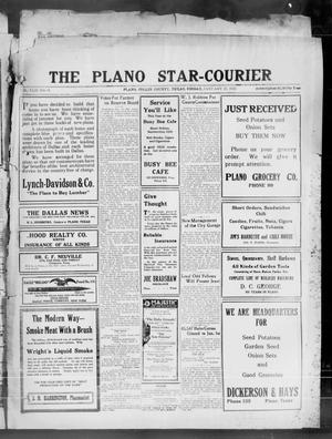 Primary view of object titled 'The Plano Star-Courier (Plano, Tex.), Vol. 42, No. 51, Ed. 1 Friday, January 27, 1922'.