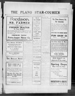 Primary view of object titled 'The Plano Star-Courier (Plano, Tex.), Vol. 43, No. 15, Ed. 1 Friday, May 19, 1922'.