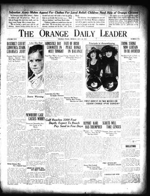 Primary view of object titled 'The Orange Daily Leader (Orange, Tex.), Vol. 17, No. 355, Ed. 1 Monday, October 24, 1921'.
