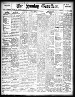 Primary view of object titled 'The Sunday Gazetteer. (Denison, Tex.), Vol. 14, No. 49, Ed. 1 Sunday, March 29, 1896'.