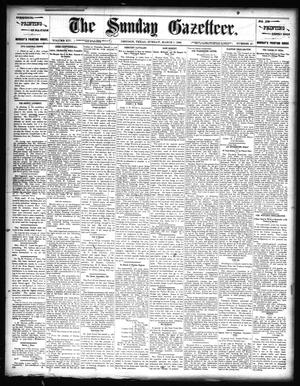 Primary view of object titled 'The Sunday Gazetteer. (Denison, Tex.), Vol. 14, No. 45, Ed. 1 Sunday, March 1, 1896'.
