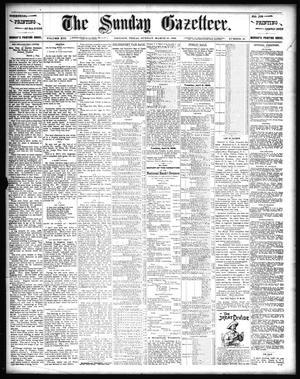 Primary view of object titled 'The Sunday Gazetteer. (Denison, Tex.), Vol. 13, No. 46, Ed. 1 Sunday, March 10, 1895'.
