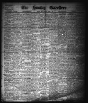 Primary view of object titled 'The Sunday Gazetteer. (Denison, Tex.), Vol. 1, No. 51, Ed. 1 Sunday, April 13, 1884'.
