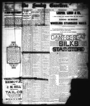 Primary view of object titled 'The Sunday Gazetteer. (Denison, Tex.), Vol. 4, No. 1, Ed. 1 Sunday, May 3, 1885'.